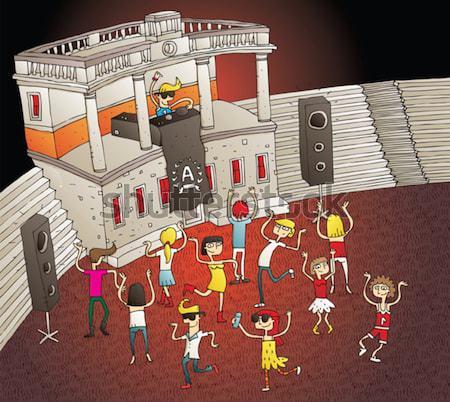 вечеринка различия игры задача находить 10 Сток-фото © VOOK