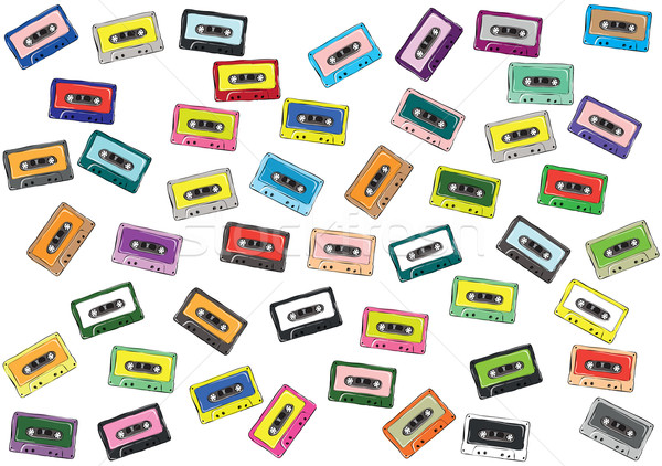 Tapes Collection  Stock photo © VOOK