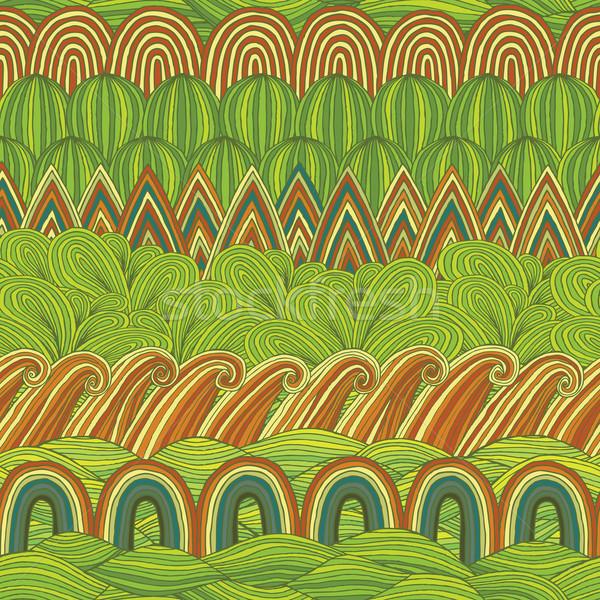 Colagem cores ilustração eps8 Foto stock © VOOK