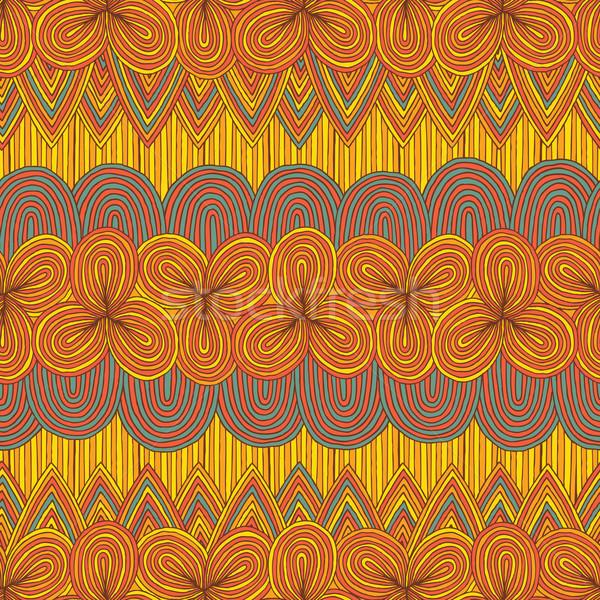 Kwiatowy kolory ilustracja eps8 Zdjęcia stock © VOOK