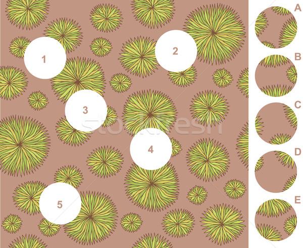 Combinar peças jogo responder ilustração eps8 Foto stock © VOOK