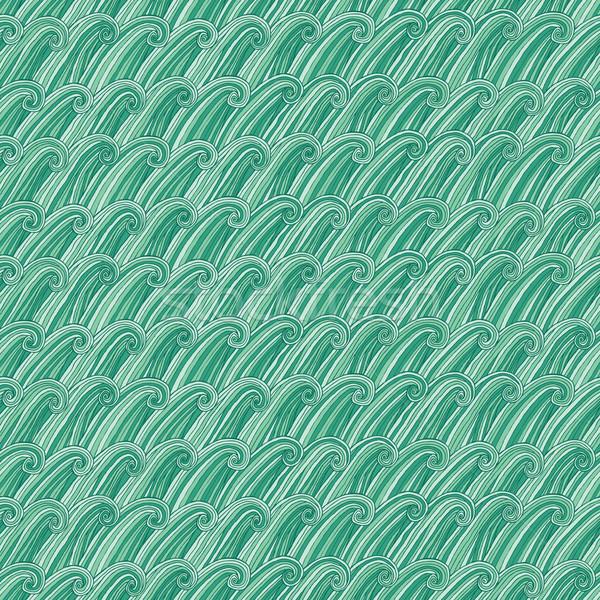 Ocean seamless pattern Stock photo © VOOK