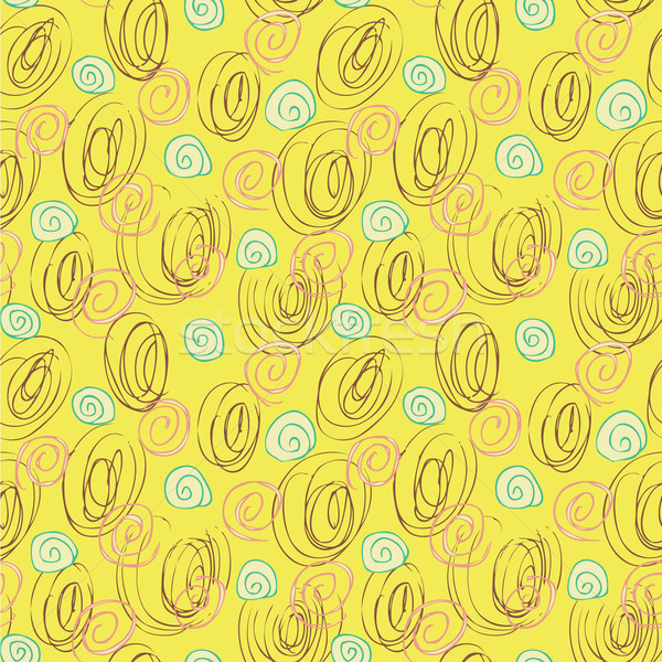 Scribble Seamless Pattern Stock photo © VOOK