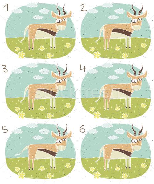 Antelope Visual Game Stock photo © VOOK