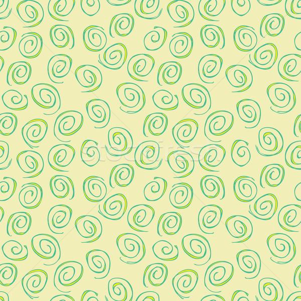 Spiral tekrarlayan bej örnek eps8 Stok fotoğraf © VOOK