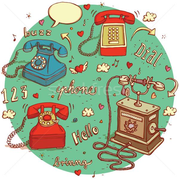 Telecommunications objects No.1. Stock photo © VOOK