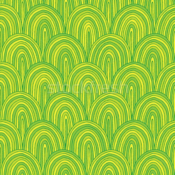 Wzgórza kolory ilustracja eps8 Zdjęcia stock © VOOK