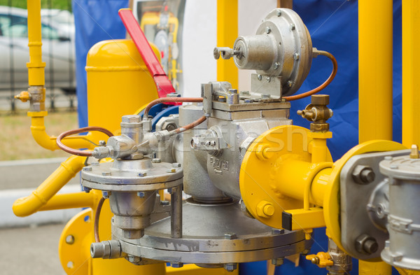 gas pressure regulator Stock photo © vrvalerian