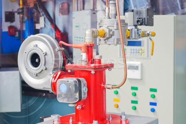 Stockfoto: Moderne · kamer · uitrusting · verwarming · water · pompen