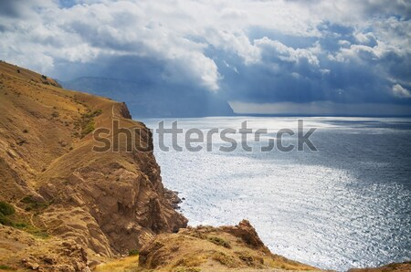 mountains and the sea Stock photo © vrvalerian