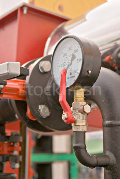 pressure meter Stock photo © vrvalerian