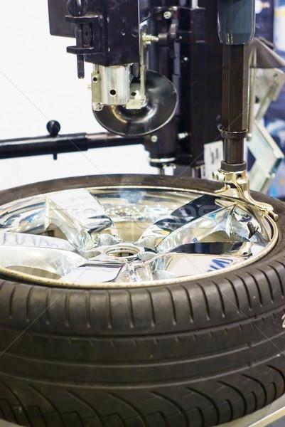 tire repair Stock photo © vrvalerian