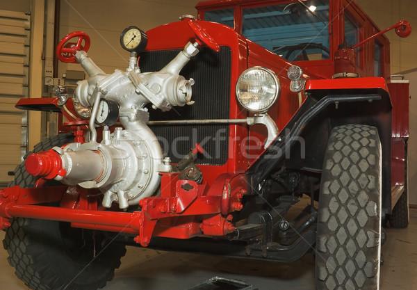 firefighters truck  Stock photo © vrvalerian