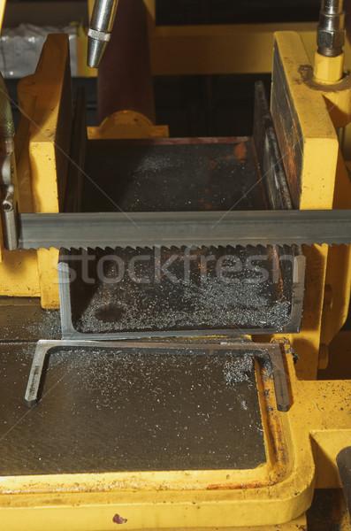 Gép vág acél gyár fém olaj Stock fotó © vrvalerian