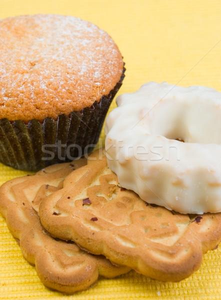Foto stock: Bolinhos · bolo · biscoitos · alimentação · sobremesa · doces
