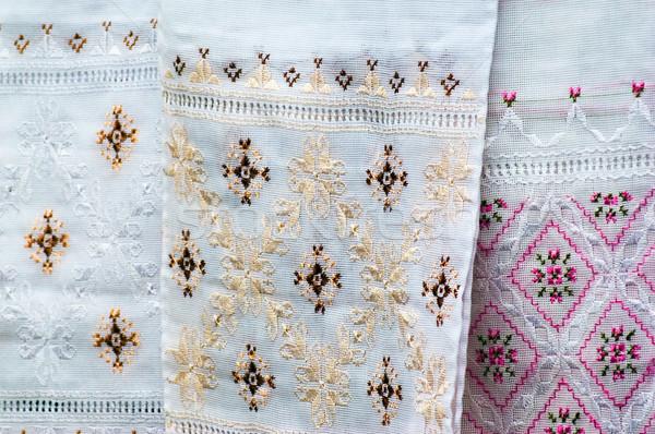 шелковые вышивка ручной работы подарки дизайна Сток-фото © vrvalerian