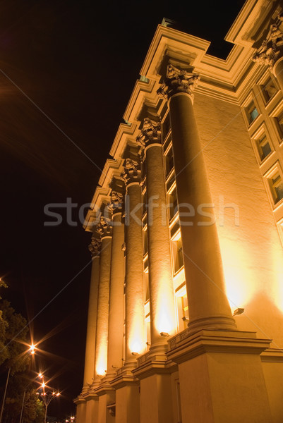 building with columns Stock photo © vrvalerian
