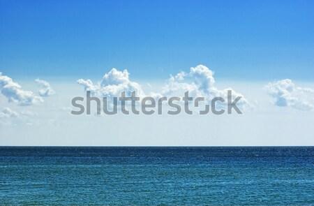 óceán kilátás napos nyár nap víz Stock fotó © vrvalerian