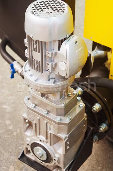 Víz pumpa elektromos vezetés ipar ipari Stock fotó © vrvalerian