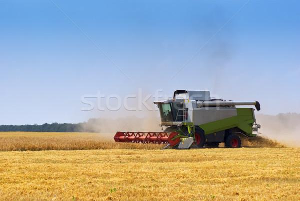 Big  combine Stock photo © vrvalerian