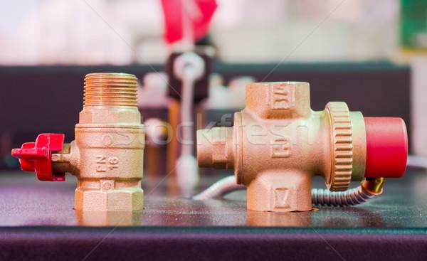 Agua diferente metal industria servicio gas Foto stock © vrvalerian