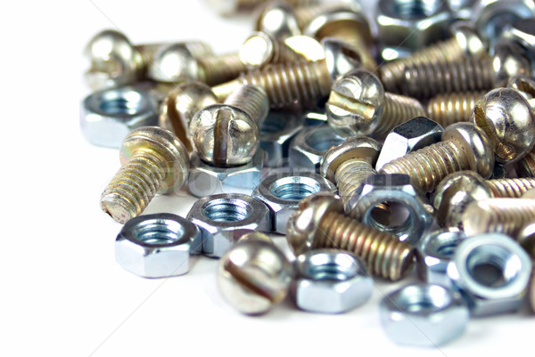 bolts and nuts Stock photo © vrvalerian