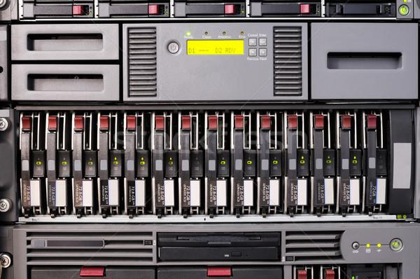 Rack mounted server Stock photo © vtls