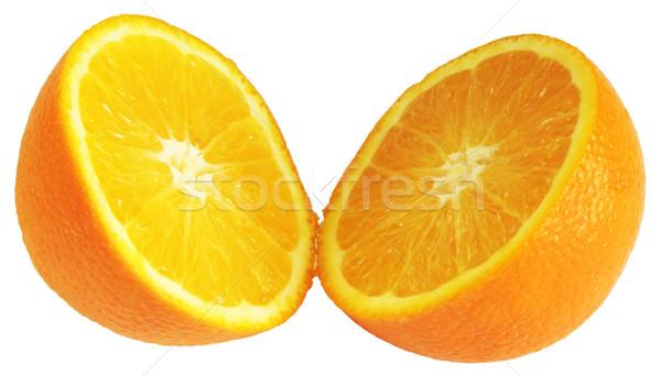 Orange divided in half Stock photo © vtls