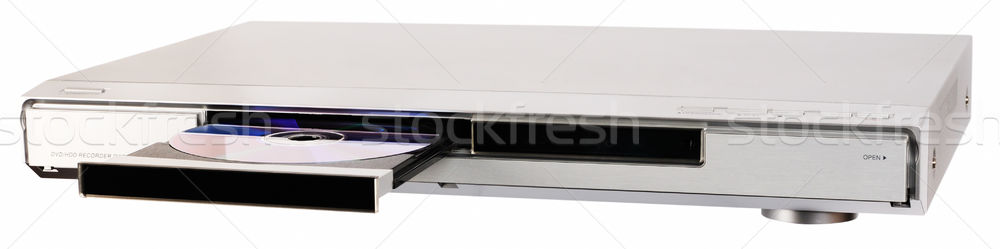 DVD recorder with open tray Stock photo © vtls