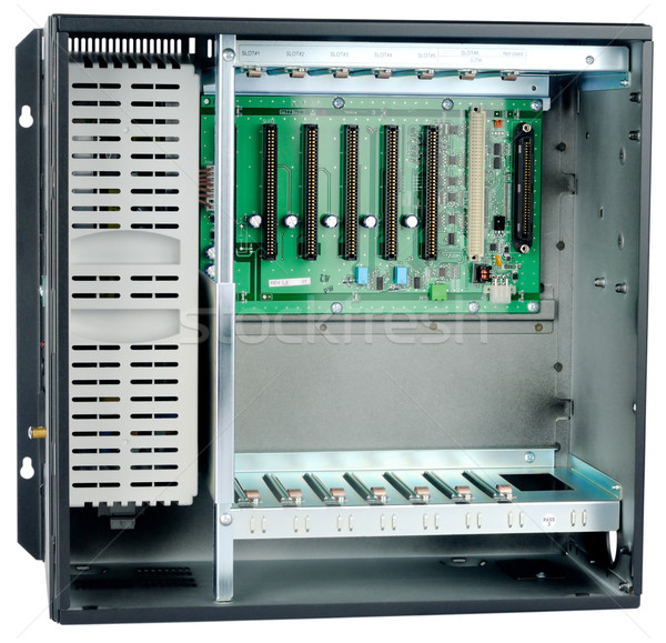 Telephone switch chassis Stock photo © vtls