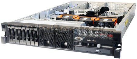 Rackmount server on white Stock photo © vtls