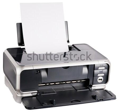 Ink-jet printer Stock photo © vtls