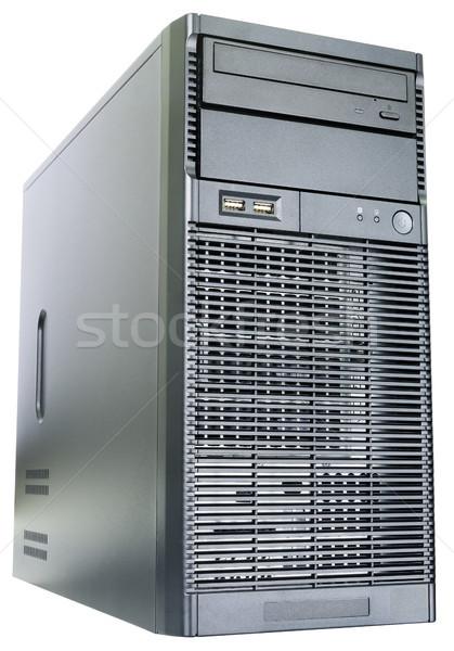 área de trabalho servidor isométrica ver isolado branco Foto stock © vtls