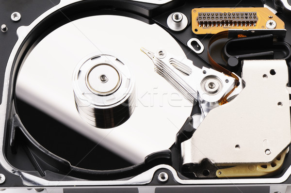 Taken apart hard disk Stock photo © vtls
