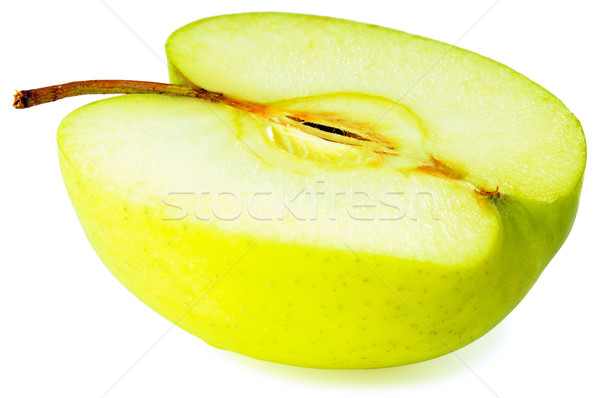 Apple over white Stock photo © vtls