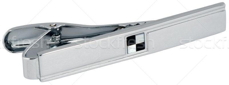 Tie-pin on white Stock photo © vtls
