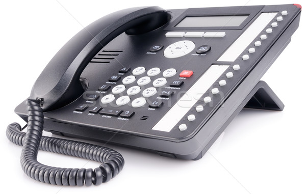 Office multi-button telephone Stock photo © vtls