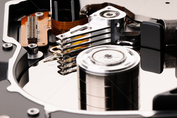 Hard disk backround Stock photo © vtls