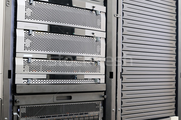 Rack mounted system storage Stock photo © vtls