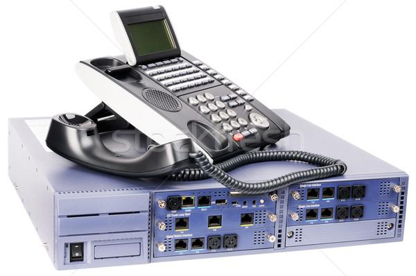 Phone switch and telephone set Stock photo © vtls