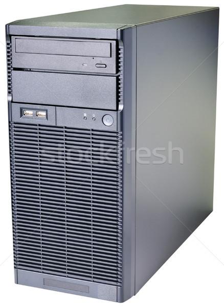 デスクトップ サーバー アイソメトリック 表示 孤立した 白 ストックフォト © vtls