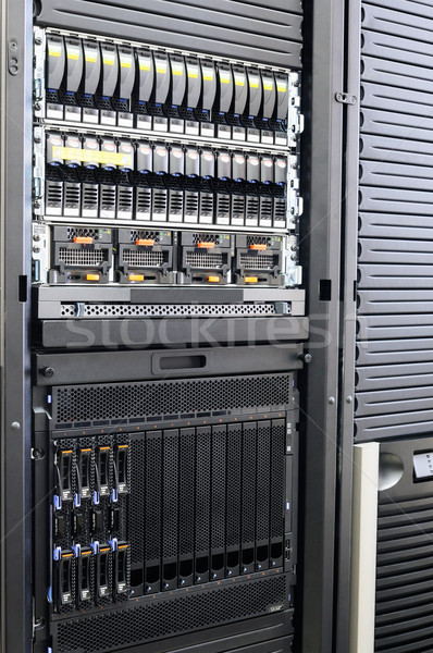 Rack mounted servers Stock photo © vtls