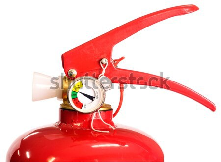 Red fire extinguisher Stock photo © vtls