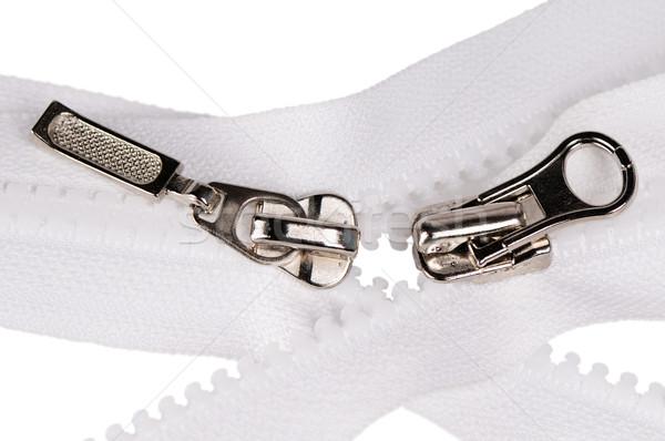Two zipper fasteners Stock photo © vtls