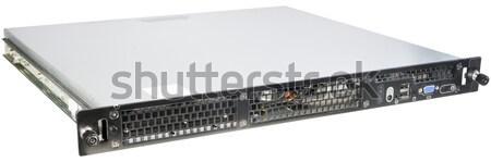 Rackmount server isolated on white Stock photo © vtls