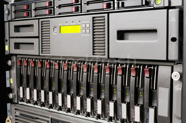 Rack mounted IT equipment Stock photo © vtls