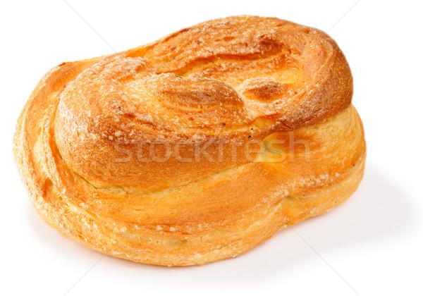 Witte vers zoete suiker geïsoleerd Stockfoto © vtls