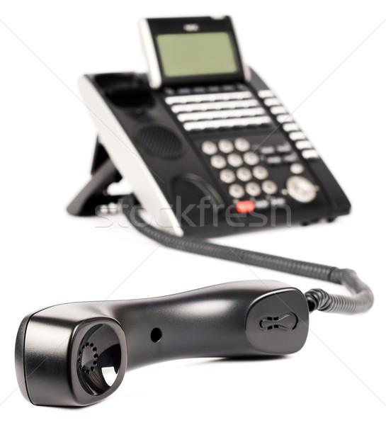 Office digital phone off-hook Stock photo © vtls