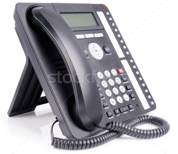 Office multi-button IP telephone Stock photo © vtls