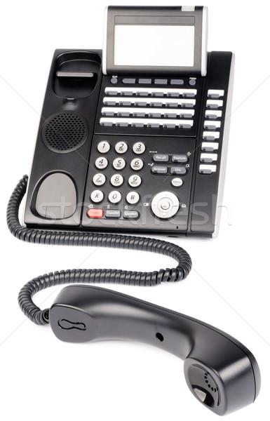 Digital telephone off-hook Stock photo © vtls